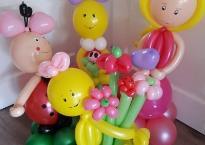 Ballonvouwen familie