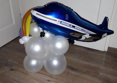 Ballonvouwen vliegtuig